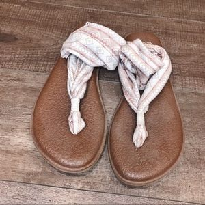 Sanuk Fabric Sandals